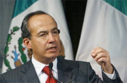 While Mexican President Felipe Calderon has proposed legislation that would offer pot smokers treatment instead of jail, Calderon and his ruling conservative National Action Party (PAN) have stopped short of calling for legalization or decriminalization.