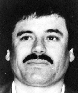 """Joaquin """"El Chapo"""" Guzman, the reputed head of Mexico's Sinaloa drug cartel, has instructed associates to use deadly force north of the border to protect trafficking operations."""
