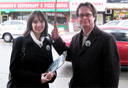 """Marc Emery (pictured with his wife, Jodie) says mandatory minimum sentencing for drug offences is a """"failed policy"""" in the U.S."""