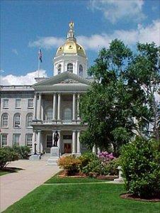 New Hampshire Statehouse.