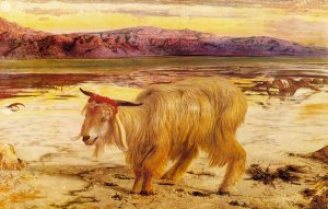 The Scapegoat, by William Holman Hunt - 1854