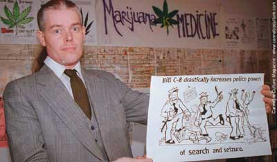 Ken Kirk: medical pot user attacked be police with grenades and rifles.