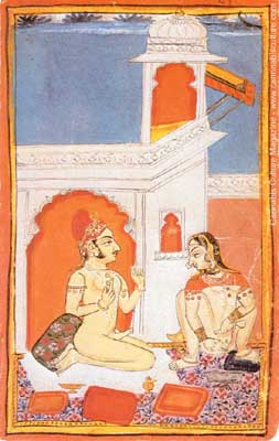 A painting from the Bundi State, circa 1800-20.