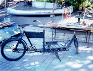 The infamous Christiania bicycle.
