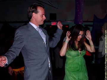 Marc Emery and Chef Cici dance up a storm