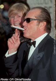 Jack Nicholson: giving sage advice in Acapulco.