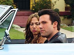 Ben Affleck and Jennifer Lopez: afraid to admit they like to toke up.