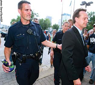Marc Emery getting arrested in Calgary