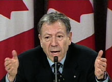 Irwin Cotler, previous Justice Minister