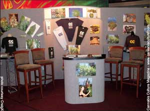 The Cannabis Culture booth from season two of Showtime?s Weeds.