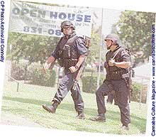 LAPD SWAT team: gang-like, entrenched corruption.