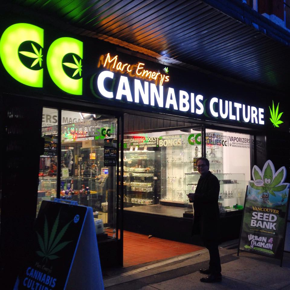 Marc Emery's Cannabis Culture Headquarters Store