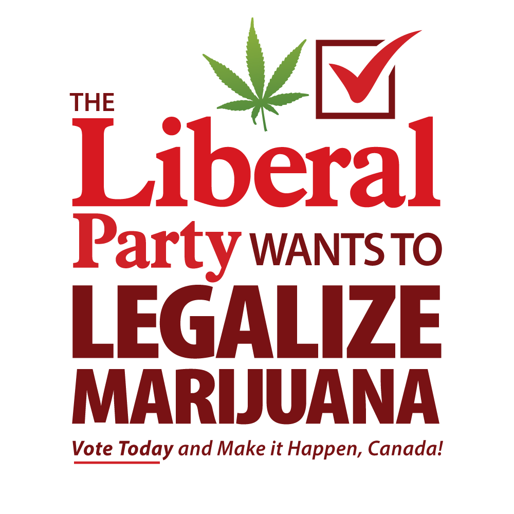 Vote Today For Legalization In Canada