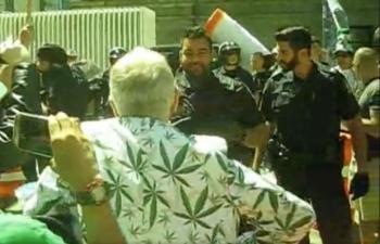 Screen Shot 2018 05 07 at 10.08.15 AM 350x225 - Video: Police Bully Protestors at GMM Vancouver