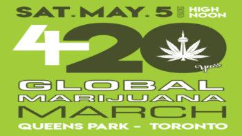 gmm 350x197 - Join Jodie Emery at Toronto's 20th Anniversary Global Marijuana March