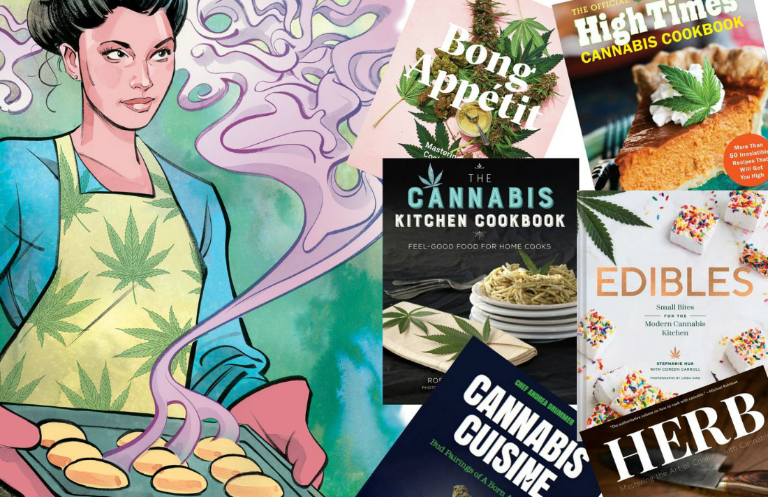 6 Cannabis Cookbooks With Recipes From Basic to Gourmet thumbnail