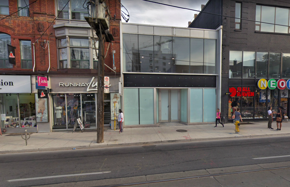 Second Proposed Toronto Pot Shop Set for Queen West Neighbourhood