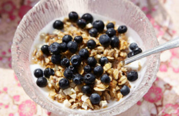 photo of Life Above the Clouds: How to Make CBD Blueberry Granola image