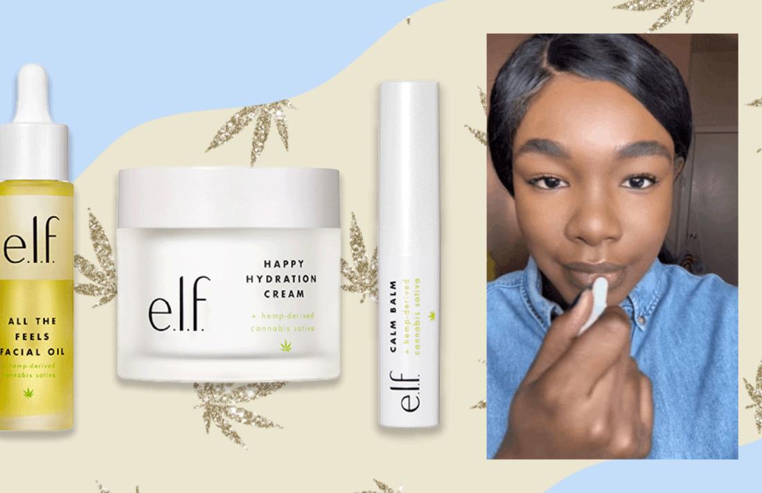 Don't Puff-Puff-Pass on e.l.f.'s New Cannabis Skincare Line-It's Legit