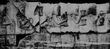 Haomavarga, haoma gatherers at Persepolis