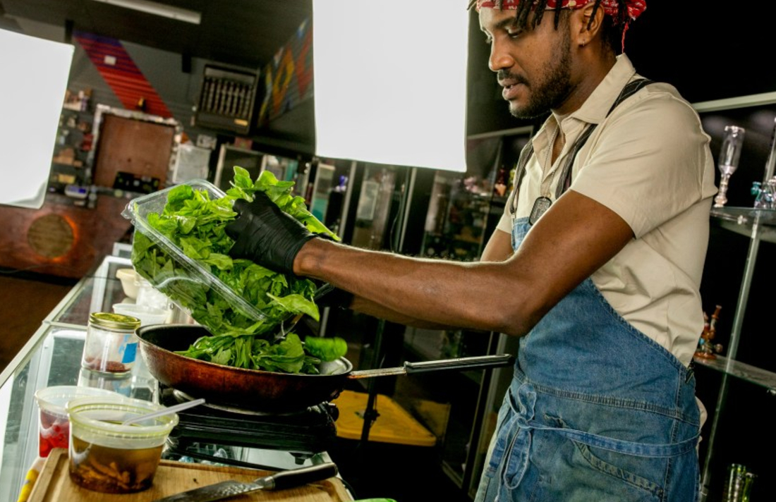 200722 ON SOMETHING EDIT 0008 - Why Denver's Harold Sims, Winner Of Cooked With Cannabis On Netflix, Will Probably Never Open A Restaurant