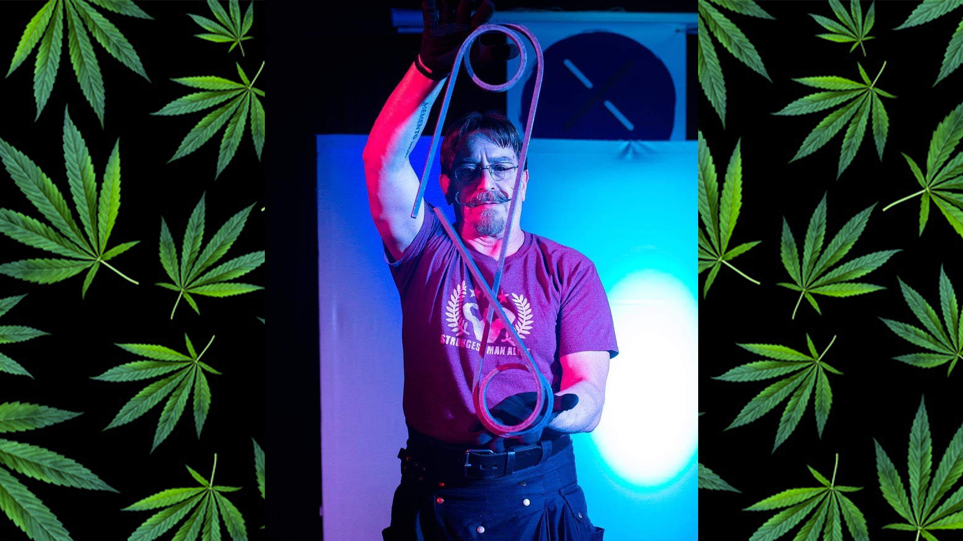 Cover 1 - Senior Citizen Strongman Finds Power in Cannabis (And He's Not the Only One!)