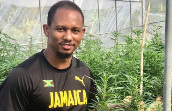 photo of Knee Injuries Forced Olympic Sprinter Michael Frater Into Retirement, But Cannabis Is Helping Him Get Back On His Feet image