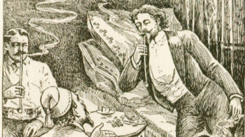""", Dr. H. H. Kane and the 19th Century """"Hash-Heesh"""" Smoking Parlors of NYC"""