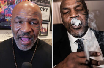 Mike Tyson Wants Britain To Legalize Cannabis To Help Ease Growing Prescription Pill Crisis And Mental Health Issues